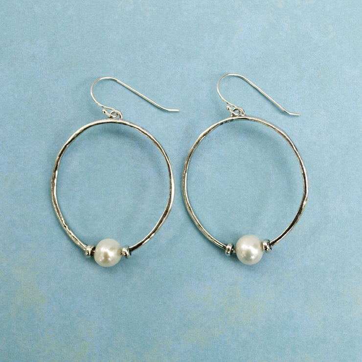 Satellite Pearl Earrings