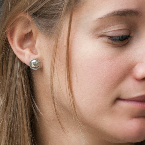 On Point Sterling Stud Earrings