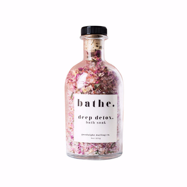 deep detox. bath soak