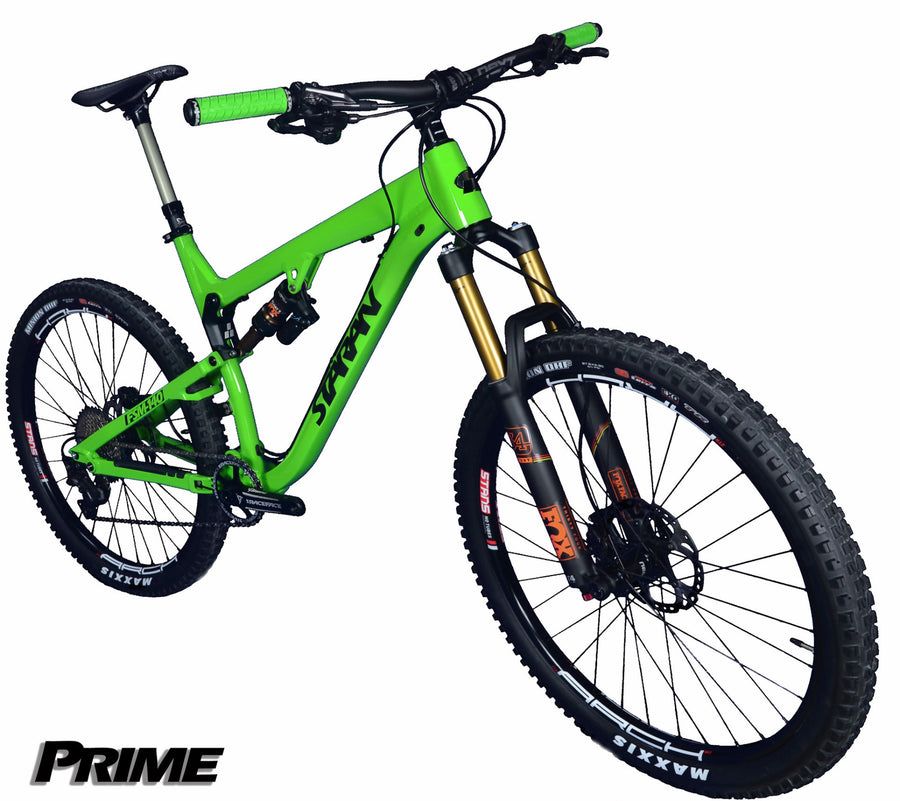 Full Suspension Trail Weapon - FSM-140 - Staran Cycles