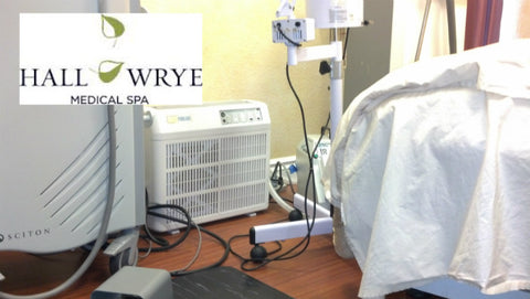 Catalytic PURE AIR purifier at Hall and Wrye Medical Spa and Plastic Surgery Clinic