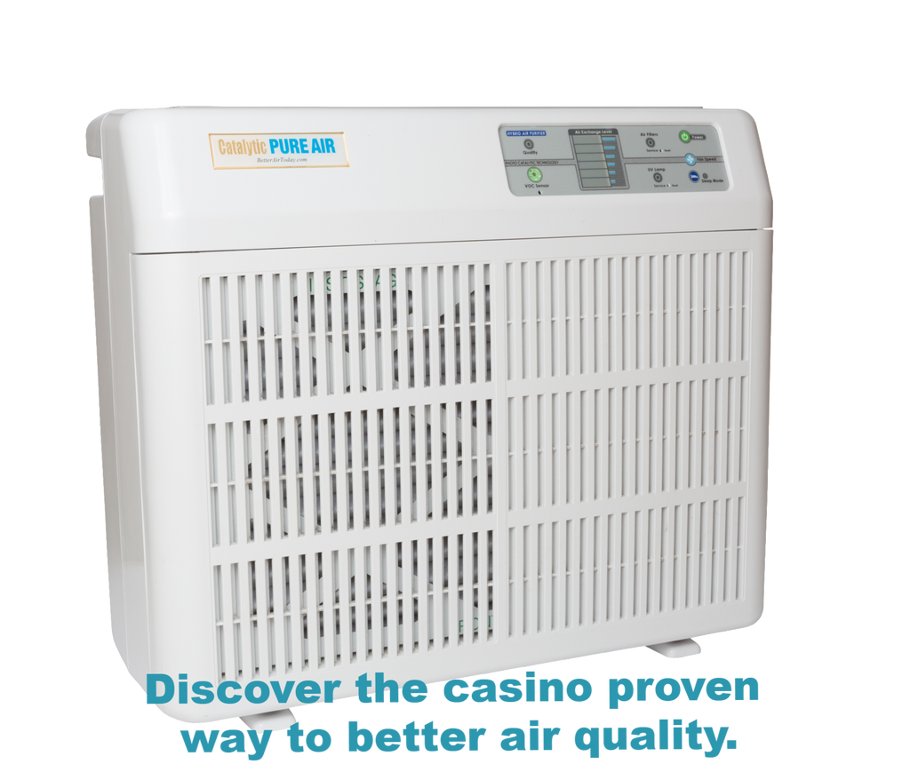 Catalytic PURE AIR purifier for home, office, commercial, casino, hotel