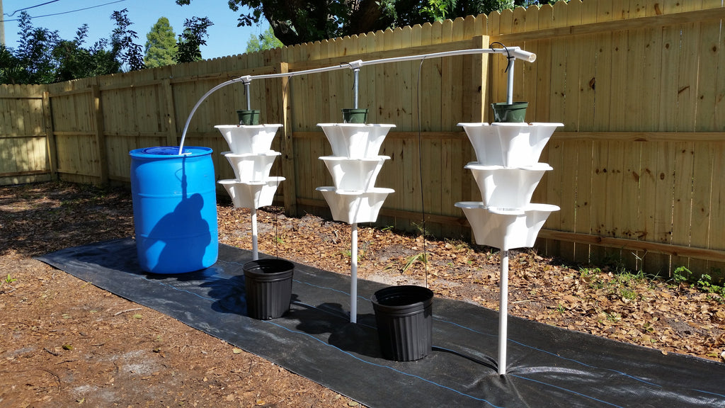 z - Hydroponic Home Growing System - 3 Tower