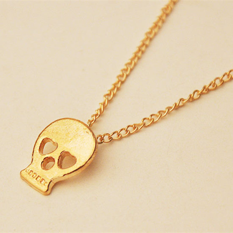 Cute skull head skeleton pendant necklace skull obsessed cute skull head skeleton pendant necklace aloadofball Gallery