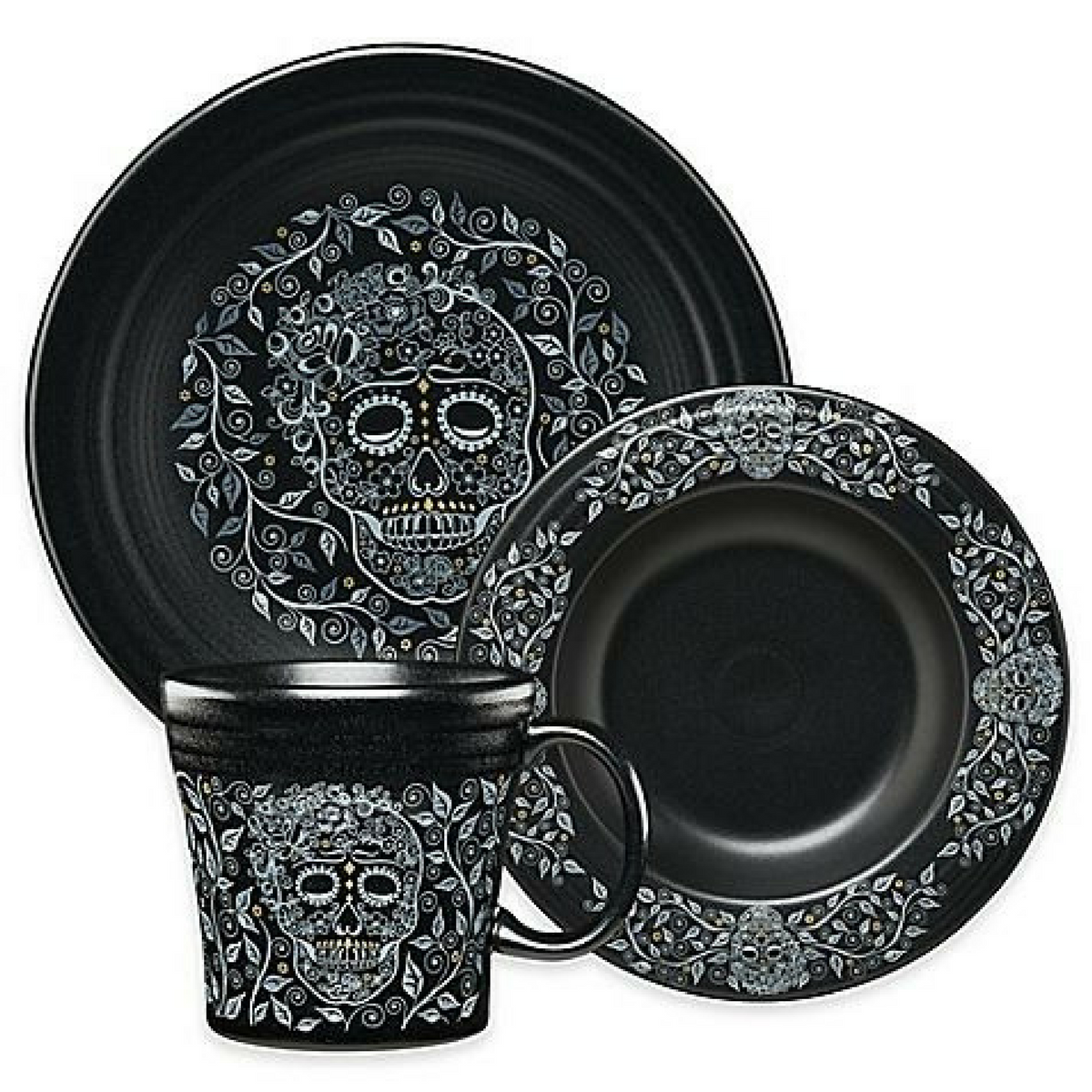 Skull and Vine Dinnerwares