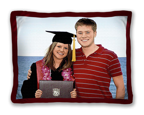 Graduation Photo Pillow