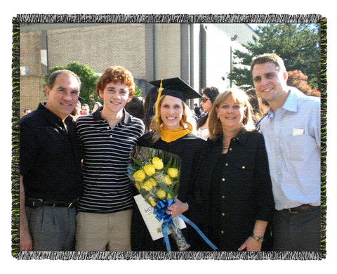 Graduation Photo Blanket