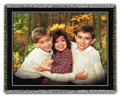 IYP Woven Photo Blankets