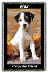 Pet Photos Woven on Blankets