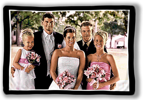 Woven Photo Pillow Sham
