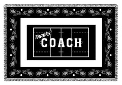 THANKS! Coach Woven Blankets