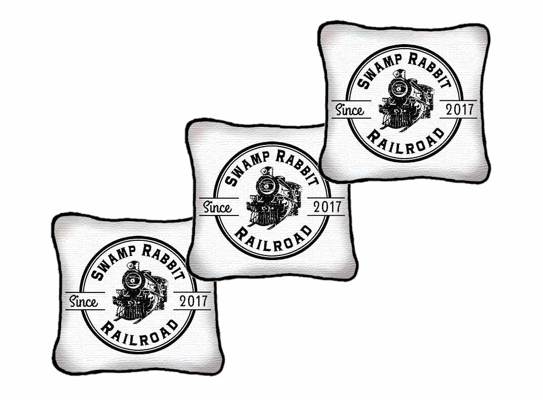 Small Logo/Business Woven Pillows -Volume Discounts