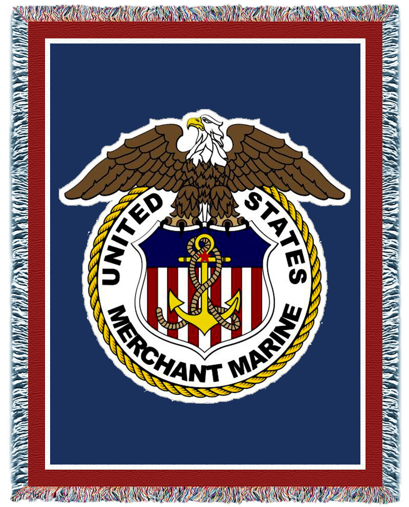 Military Pride Woven Blankets
