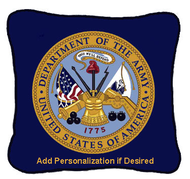 Military Pride Woven Pillows