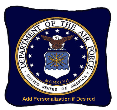 Airforce Pillow Personalized