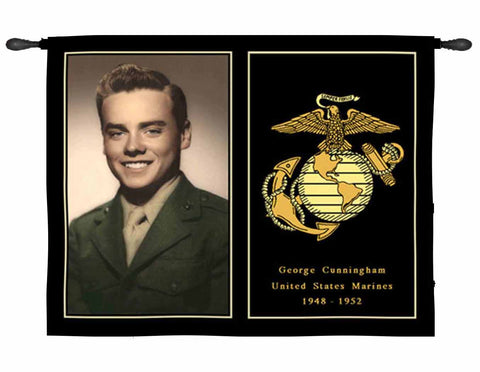 Military Veteran Tapestry Wall Hangings