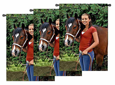 Extra Large Woven Photo Wall Hangings- Volume Discounts
