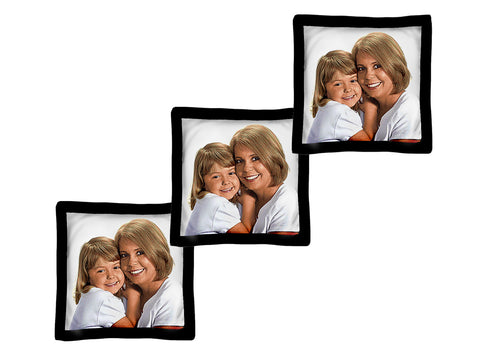 Small Woven Photo Pillows -Volume Discounts