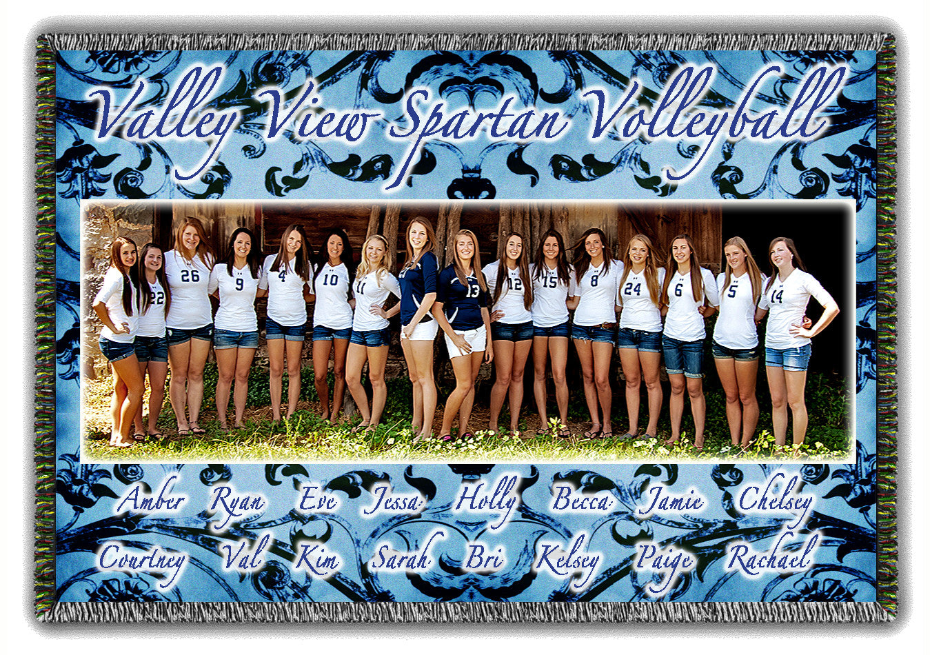 Team Woven Photo Blankets