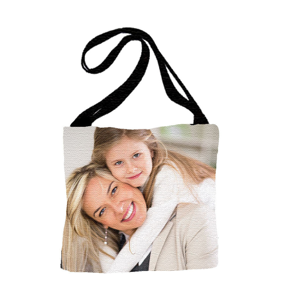 Woven Photo Tote Bag