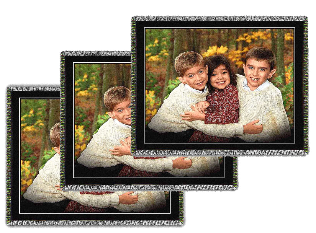 Large Woven Photo Blankets - Volume Discounts
