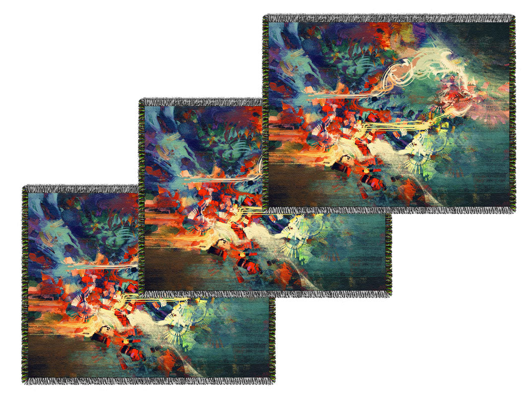 Large Weave Your Art Blankets - Volume Discounts