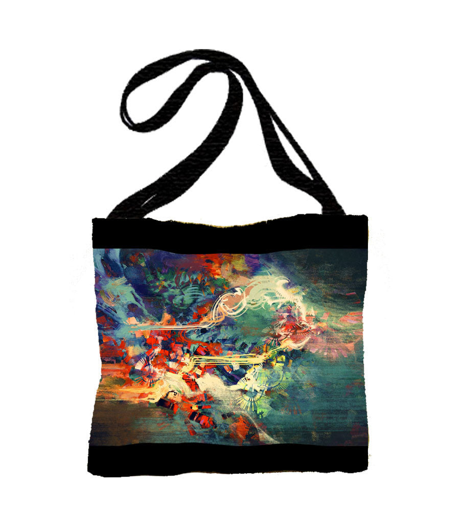 Weave Your Art Tapestry Tote