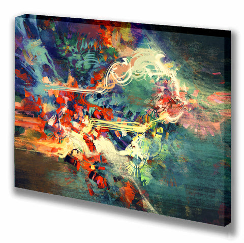 Weave Your Art Woven Gallery Wrap