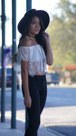 Domenica Lace Top