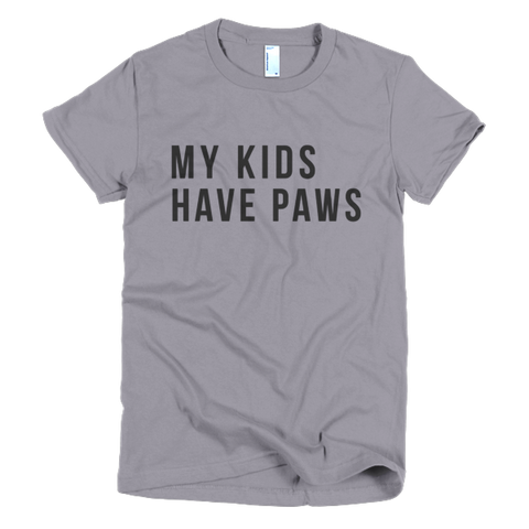 My Kids Have Paws Top