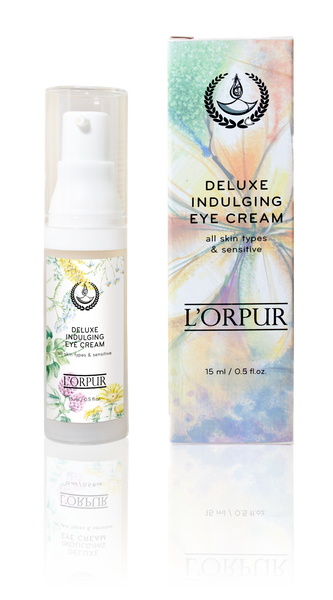 L'orpur Deluxe Indulging Eye Cream (All Skin Types & Sensitive, 0.5oz / 15ml)