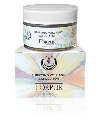 L'orpur Purifying Volcanic Exfoliator (All Skin Types, 1.7oz / 50ml)