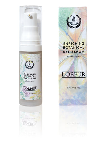 L'orpur Enriching Botanical Eye Serum (All Skin Types, 0.5oz / 15ml)