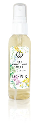 L'orpur Rich Anti-Oxidant Toner (All Skin Types & Sensitive, 2oz / 56ml)