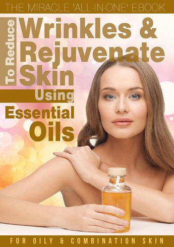 Essential Oils Skincare eBook for Oily & Combination Skin (Digital Download Only)