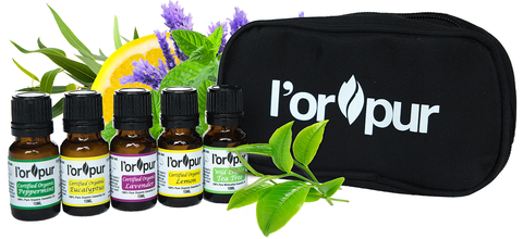 L'orpur Organic Essential Oils Set
