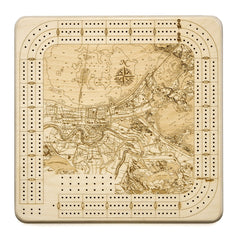 New Orleans Cribbage Board