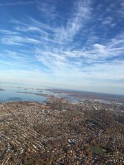 Arial view of Boston