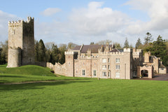Castle on a hill in Ireland