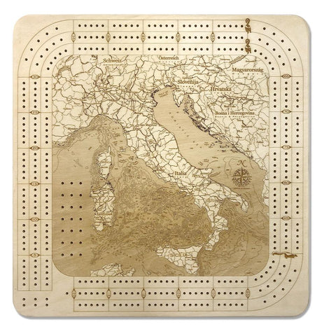 Italy Cribbage Board
