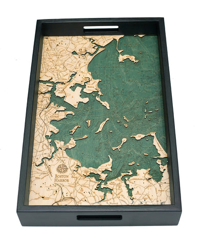 "Boston Harbor Serving Tray 20"" X 13"""