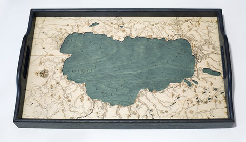 "Lake Tahoe Serving Tray 20"" X 13"""