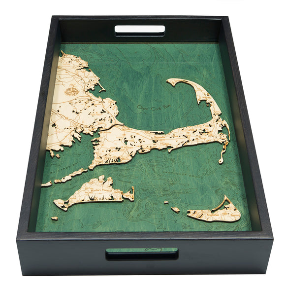 "Cape Cod Serving Tray, 20"" x 13"""