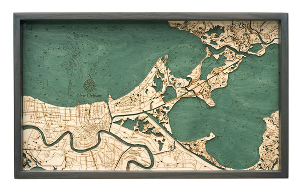 "New Orleans Serving Tray, 20"" x 13"""