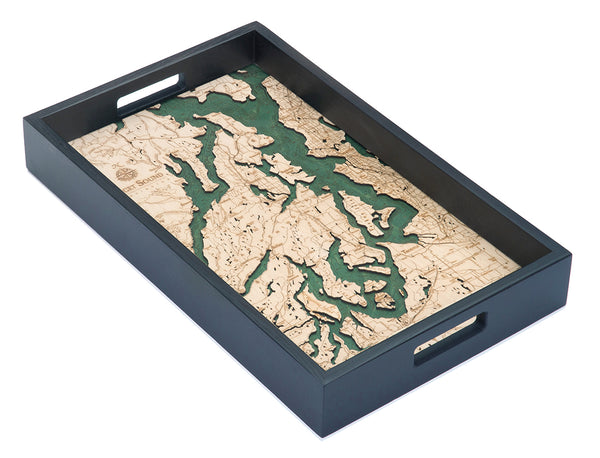 "Puget Sound Serving Tray, 20"" x 13"""