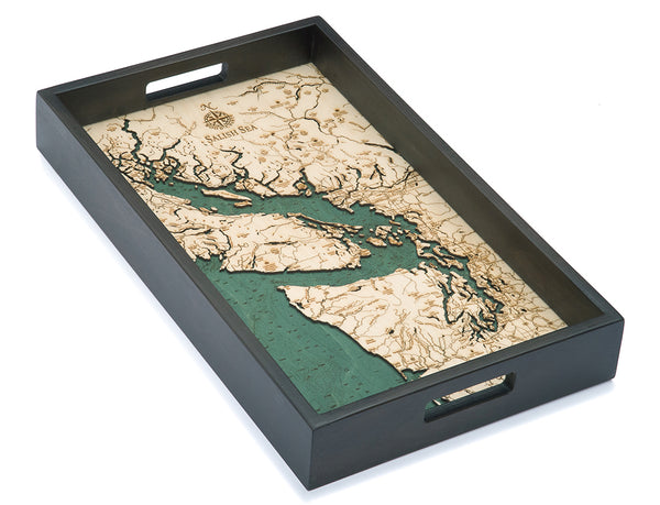 "Salish Sea Serving Tray, 20"" x 13"""