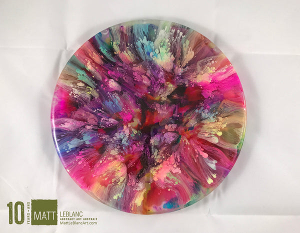 "Matt LeBlanc Supernova Art - 9"" round - 0005"