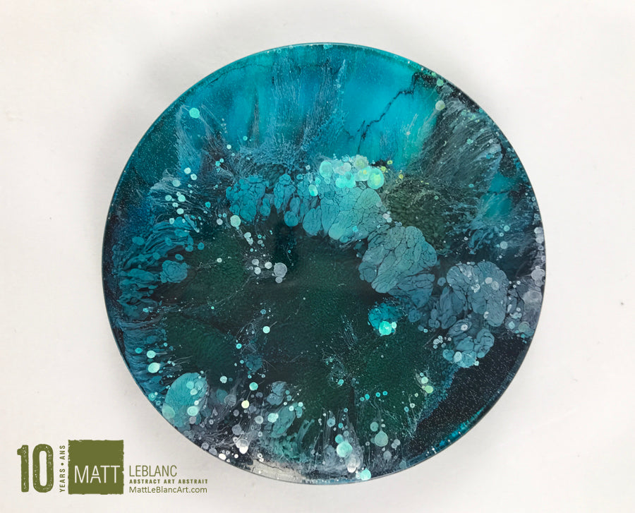 "Matt LeBlanc Supernova Art - 3.5"" round - 0020"