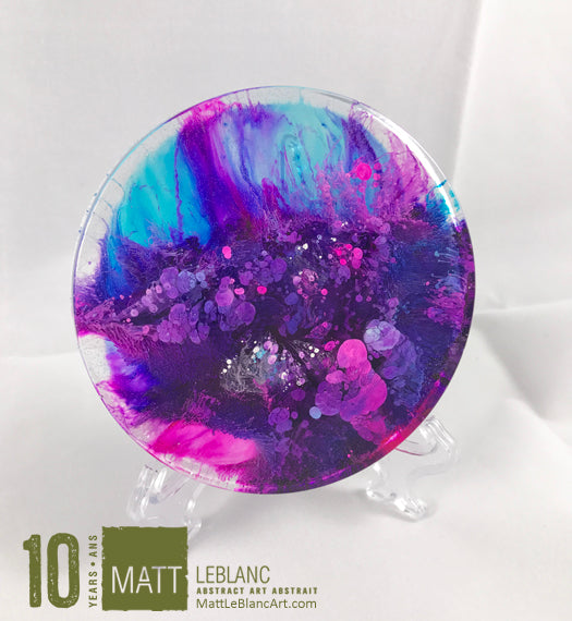 "Matt LeBlanc Supernova Art - 3.5"" round - 0022"
