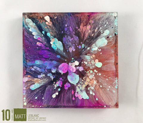"Matt LeBlanc Supernova Art - 3.5"" square - 0025"